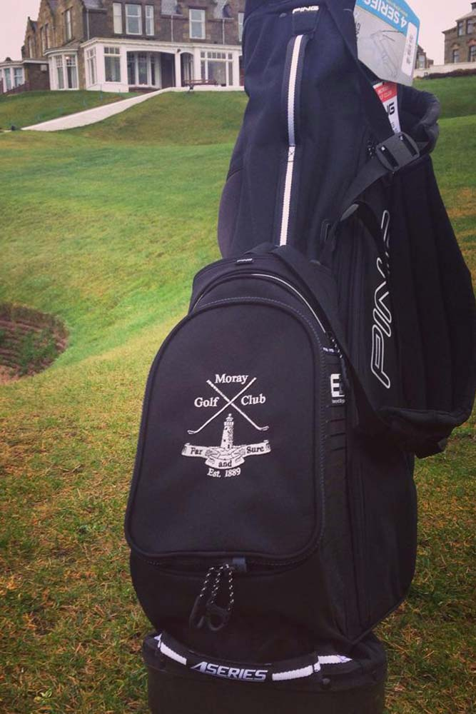Personalised Golf Bag Embroidery England - Moray, Highlands and Scotland ...